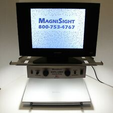 Magnisight MSE-AC20-S Color LCD TV Monitor Visuals Aid Vision Video Magnifier
