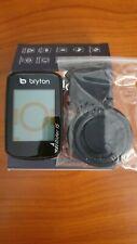 Ciclocomputer GPS Bryton Rider 15E supporto + cavo usb