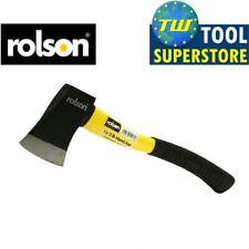 Rolson Fibreglass Shaft High Rubber Grip 1.5LB Yellow & Black Hand Axe