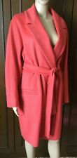 Cashmere wool coat  MAX&Co. by Max Mara Woman, coral color, size 48  Cappotto
