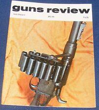 GUNS REVIEW MAGAZINE APRIL 1974 - GERMAN SNIPER RIFLES IN WORLD WAR ONE