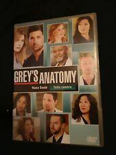 GREY'S ANATOMY STAGIONE 9 - COFANETTO 6 DVD COME NUOVO