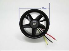 RC Fixed wing plane 64mm 5-blade Ducted fan engine set with 4S 4300KV motor
