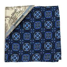 Tootal Azul Vintage Pequeño bolsillo azulejo impresión Cuadrado