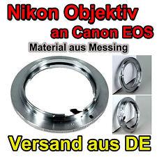 Objektivadapter für AI-EOS Nikon Objektiv an Canon EOS Kamera