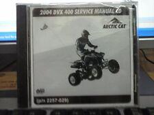2004 Arctic Cat DVX 400 Service Manual CD
