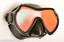 Oceanways Superview-HD Anti-UV/Glare w/Anti-Fog Dive Mask (OM940BKSFF)
