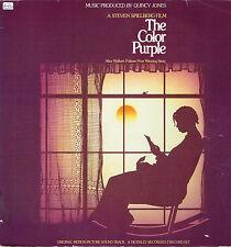 """LP 12"""" 30cms: BO du film: the color purple: Quincy Jones. qwest 2LP"""
