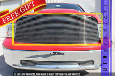 GTG 2009 - 2012 Dodge Ram 1500 1PC Polished Upper Replacement Billet Grille