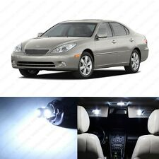 13 x Xenon White LED Interior Lights Package For 2004 - 2012 Lexus ES330 ES350