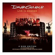 David Gilmour - Live in Gdansk (Live Recording, 2008) NEW CD