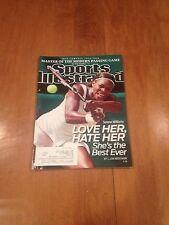 Sports Illustrated Serena Williams July 12 2010 Don Coryell World Cup