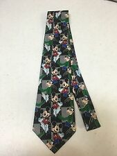 Mickey Mouse Tie ~ Mickey Unlimited ~100% Polyester ~Mickey~ Goofy