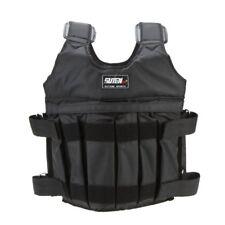 SUTEN Max 50kg carga de peso Chaleco recargado ajustable chaleco chaqueta e E1A6