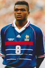 MARCEL DESAILLY EM France WM Foto 20x30 signiert signed IN PERSON Autogramm