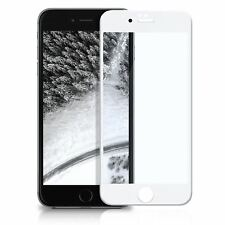 Protector Cristal Templado Completo 4D CURVO Para Iphone 8 Blanco