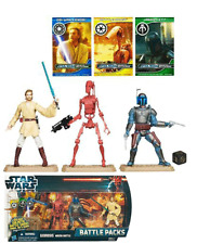 Star Wars Geonosis Arena Battle Packs Set Neuf/Scellé