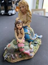 More details for   limited edition leonardo mermaids figurines gentle touch