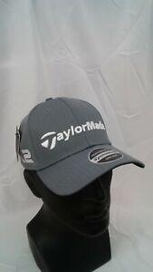 Men's TaylorMade Golf 2017 Tour Radar Adjustable Cap Grey M1 & M2 Logos