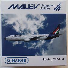 Schuco/Schabak Aviation 1:600: 403551608 Boeing 737-800 Malev Hungarian Airlines