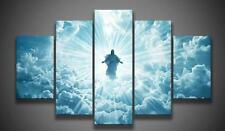 Modern Abstract Oil Painting Wall Decor Art Huge - Jesus Christ 5pcs