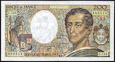 1992 France 200 Francs Banknote * 2462869514 * gVF * P-155e *
