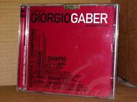 GIORGIO GABER Il Meglio di Giorgio Gaber 32 Successi Box 2 CD NUOVO SIGILLATO!!!