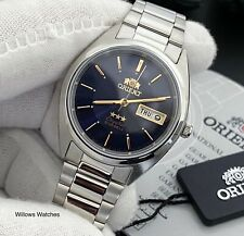 Orient 3 Star Automatic Men's Blue Dial Watch FAB00006D9 Brand New