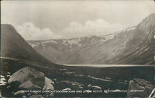 More details for real photo aviemore loch eunach 1929 j s lawrence local publisher