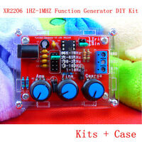 1* XR2206 1HZ-1MHZ Function Signal Generator DIY Kit Sine Triangle Square Output
