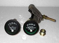 Tractor Oil Pressure, Temperature Gauge Set Replacement for John Deere