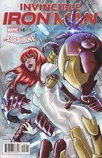 Invincible Iron Man Volume 3 #8 Marco Checchetto Mary Jane Watson Variant Cover