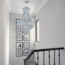 French Empire Crystal Chandelier Lighting Flush Mount Ceiling Light Pendant Lamp