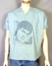 vtg 80s Rare Rick Springfield Hand Signed Tour Hospital Scrubs T-Shirt Shirt S