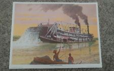 ** THE SPRAGUE - Steamboat Art Print - from Automatic Switch Co. 1975 collection