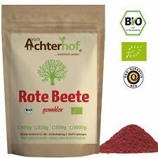 Bio Rote Beete Pulver 500g für Smoothie oder natürliche Lebensmittelfarbe