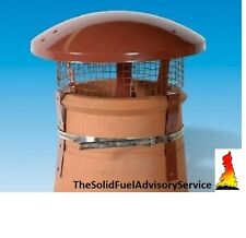 Rain Oiseau Haut Garde cheminée pot combustible solide feu de charbon cuisinière gaz pluie COLT coule