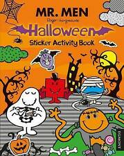 NEW  Mr Men - HALLOWEEN STICKER ACTIVITY book a4 ( 4 page stickers ) Little Miss