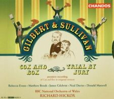 Gilbert and Sullivan - Gilbert and Sullivan: Cox and Box; Trial by Jury [CD]
