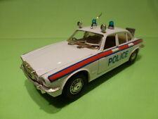 POLISTIL S31 JAGUAR XJ 4.2 SALOON - POLICE 1:25 RARE - VERY GOOD CONDITION