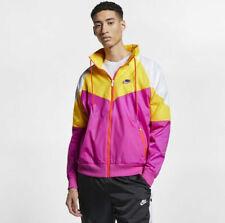 Nike Homme Vêtement de Sport Coupe-Vent Veste à Capuche AR2209-623 Vintage Neuf