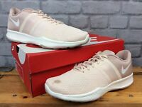 NIKE LADIES UK 7 EU 41 CITY TRAINER 2 BLUSH PINK WHITE TRAINERS LG