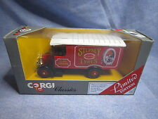 ZA229 CORGI CLASSICS THORNYCROFT STEPNEY TYRES 1929 1/43 C931 ED LIM NB