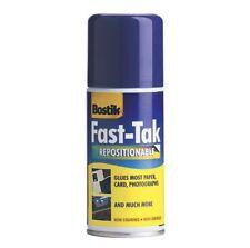BOSTIK veloce TAK SPRAY MOUNT Spray Adesivo riposizionabile COLLA SPRAY COLLA