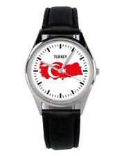 Türkei Turkey Souvenir Geschenk Fan Artikel Zubehör Fanartikel Uhr B-1106