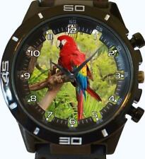 Colourful Beautiful Parrot Unisex Gift Wrist Watch Fast UK Seller