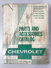 Parts And Accessories Catalog Chevrolet 1938-1966