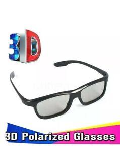 Universal Passive 3D Glasses x2 For LG Samsung TV & More