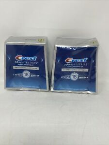 2-Crest 3D Professional Effects Whitestrips-40 Strips 20 Treatments exp 03/2023+