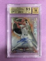 2018 Bowman High Tek Shohei Ohtani RC Rookie Black Auto 1/1 BGS 9.5 GEM AUTO/10